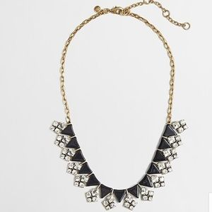 NWT J. Crew Arrow & Cluster Necklace